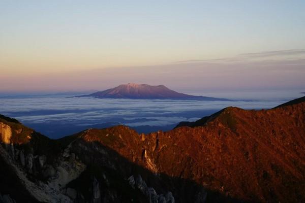 空木岳から御嶽